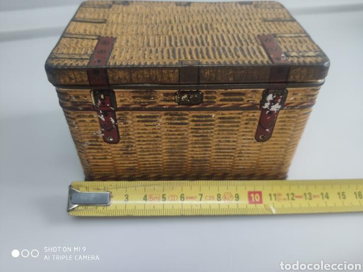 Cajas y cajitas metálicas: Caja metal baúl - Foto 3 - 176541885