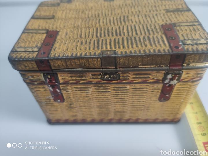 CAJA METAL BAÚL (Coleccionismo - Cajas y Cajitas Metálicas)