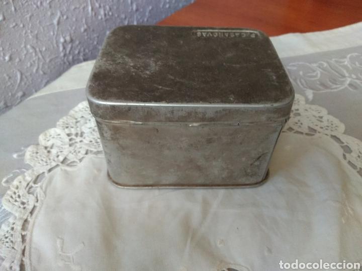 Cajas y cajitas metálicas: CAJA ALUMINIO ( FARMACIA , P. CASANOVAS , TAMAÑO GRANDE ). MÁS ARTÍCULOS ANTIGUOS EN MI PERFIL. - Foto 5 - 176580252