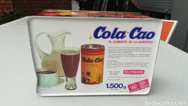 Cajas y cajitas metálicas: Lata de ColaCao - Foto 4 - 176936540