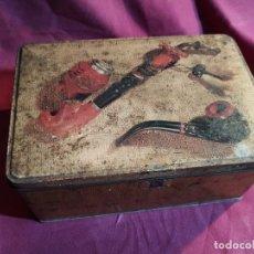 Cajas y cajitas metálicas: LATA DE COLACAO - DECORACION PIPAS. Lote 177468943