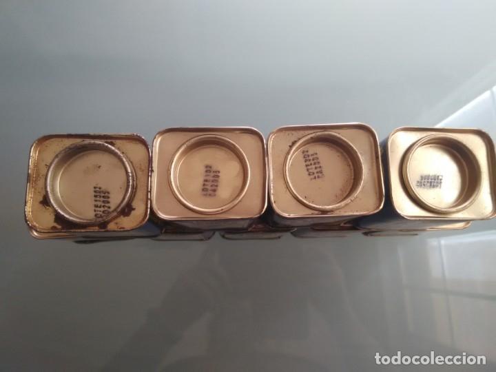 Cajas y cajitas metálicas: Cajita de especias. 9. Pimentón, Canela, Orégano, Eneldo, Hierbabuena, Cayena, Mostaza, Mejorana y A - Foto 5 - 177491493