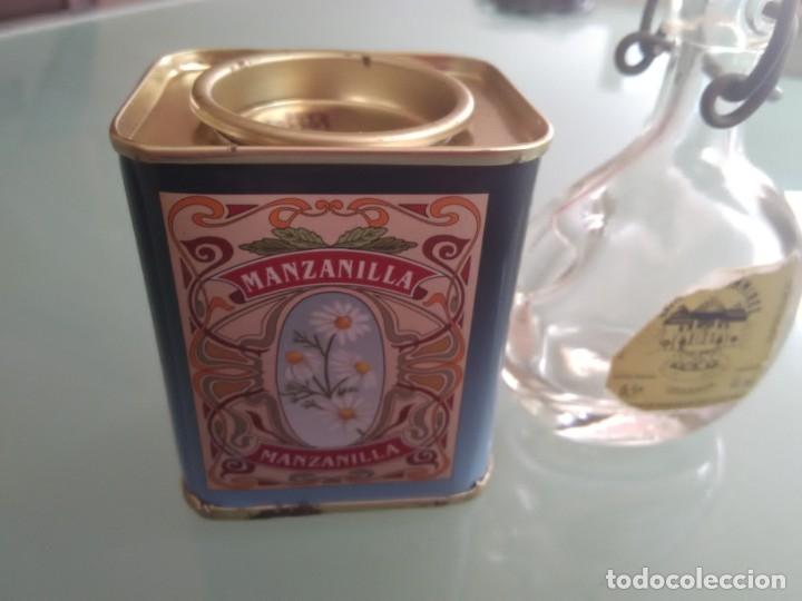 Cajas y cajitas metálicas: Cajita de especias y minibotella de aceite. - Foto 2 - 177491679