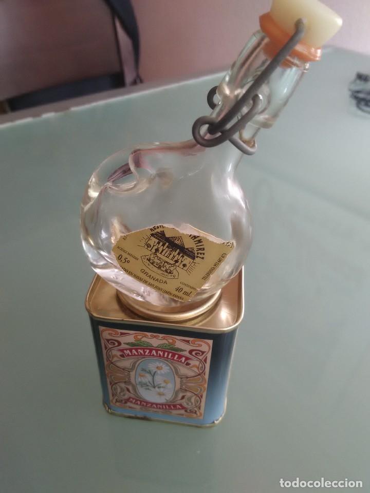 Cajas y cajitas metálicas: Cajita de especias y minibotella de aceite. - Foto 3 - 177491679