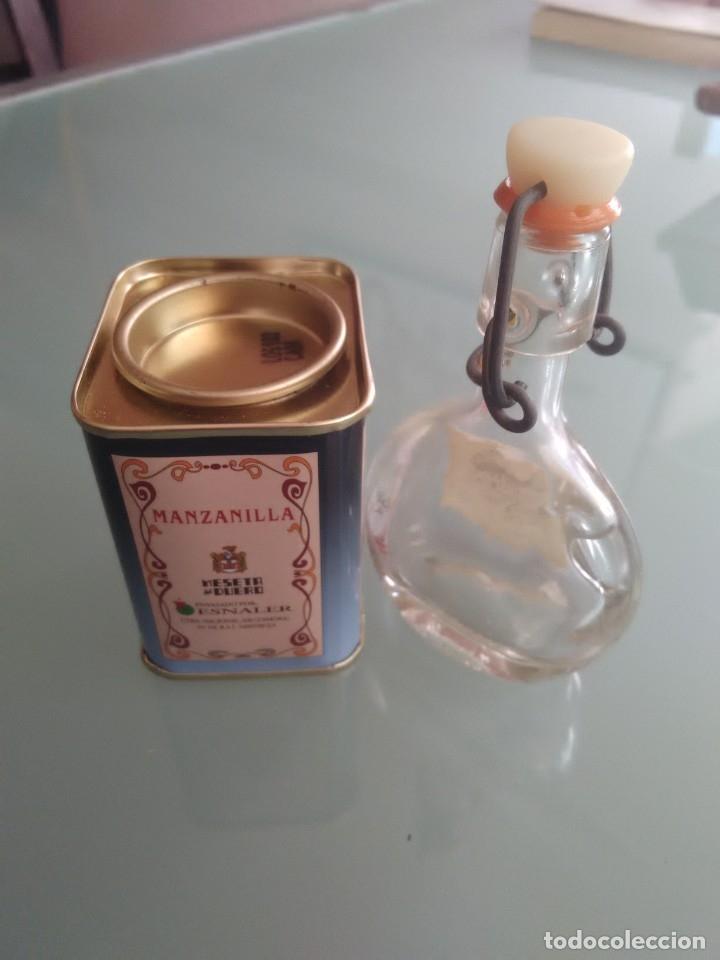 Cajas y cajitas metálicas: Cajita de especias y minibotella de aceite. - Foto 4 - 177491679