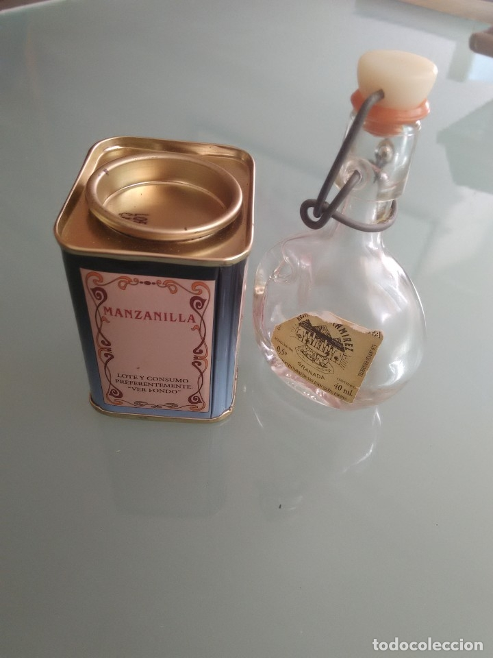 Cajas y cajitas metálicas: Cajita de especias y minibotella de aceite. - Foto 5 - 177491679