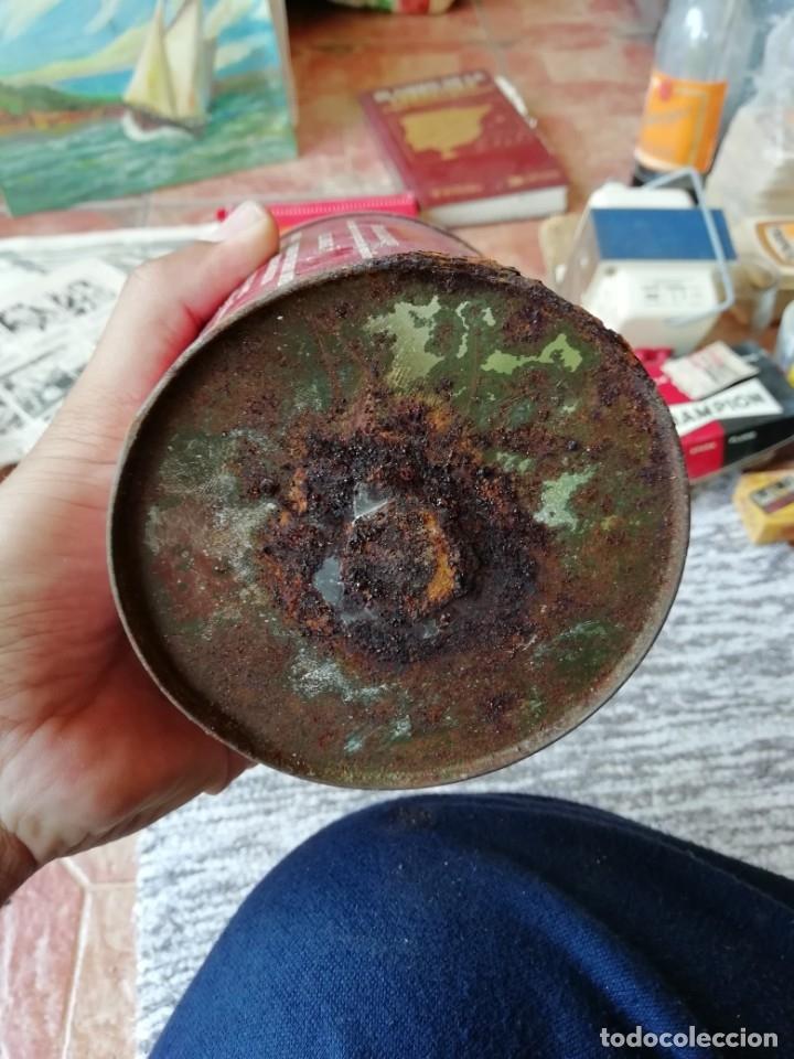 Cajas y cajitas metálicas: Antigua lata envase chocolate cadbury's cacao en polvo azucarado tapa en relieve - Foto 5 - 177658587