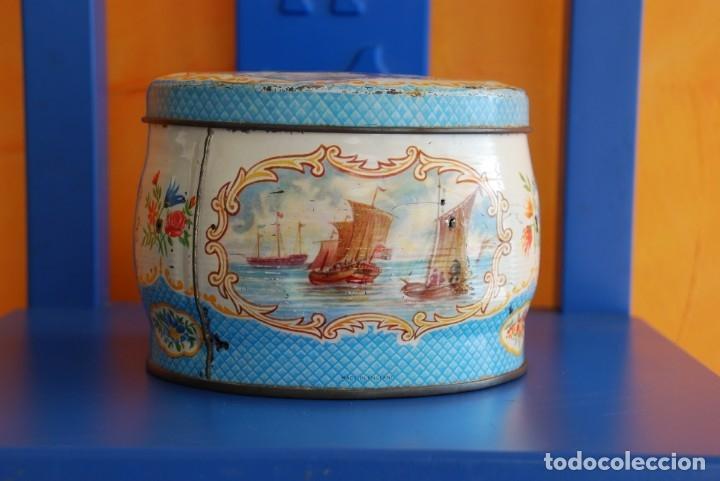 Cajas y cajitas metálicas: ANTIGUA CAJA METALICA DE GALLETAS INGLESA - Foto 3 - 177713648