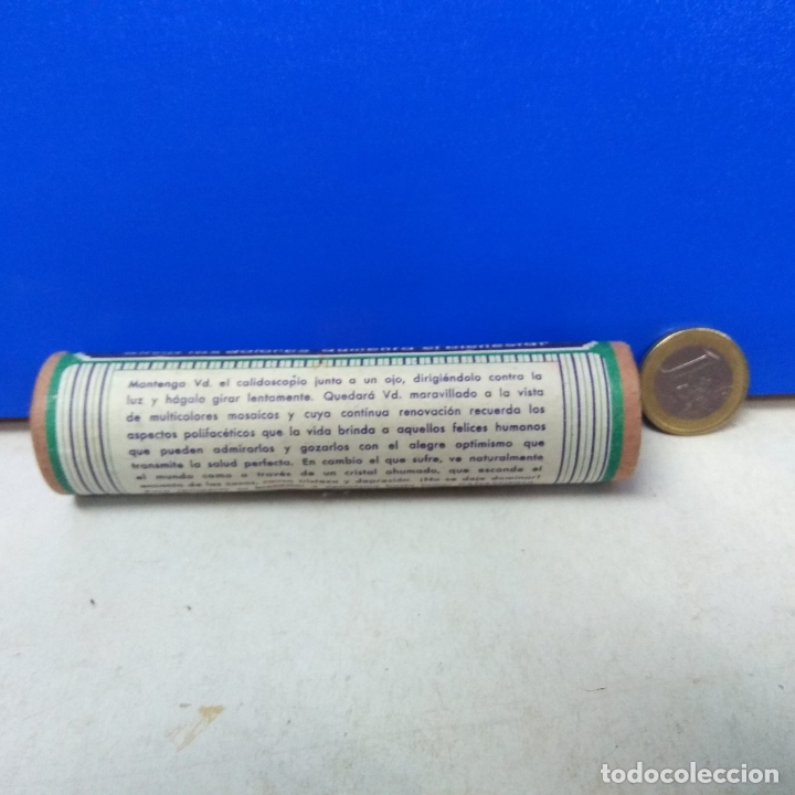 Cajas y cajitas metálicas: PRECIOSO Y ANTIGUO CALEIDOSCOPIO PUBLICIDAD CAFIASPIRINA BAYER - Foto 2 - 178133038