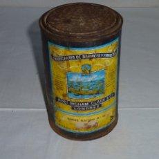 Cajas y cajitas metálicas: ANTIGUA LATA DE BARNIZ FLATTING Nº 10 - ROB.INGHAM CLARK Y Cª-LONDRES.. Lote 178672012
