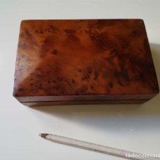 Cajas y cajitas metálicas: CAJA MADERA . Lote 179100755