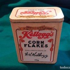 Cajas y cajitas metálicas: CAJA METAL CORN FLAKES KELLOGG'S (1990). Lote 179174710