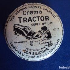 Cajas y cajitas metálicas: (PUB-191013)CREMA TRACTOR - VILLAFRANCA DEL PEDENES. Lote 179182460