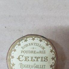 Cajas y cajitas metálicas: CAJITA CELTIS ROGER & GALLET PARIS. Lote 179519218