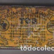 Cajas y cajitas metálicas: PASTA PECTORAL INFALIBLE CONTRA TODA CLASE DE TOS. DR. ANDREU. CAJA METÁLICA (5X9,5 CMS Y 2 CMS DE A. Lote 180334042
