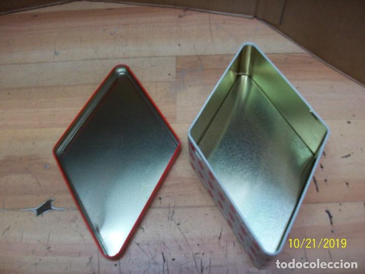 Cajas y cajitas metálicas: CAJA ROMBOIDAL DE ANIS EL MONO - Foto 4 - 180340072