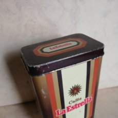 Cajas y cajitas metálicas: CAFÉS LA ESTRELLA. Lote 180444387