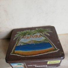 Cajas y cajitas metálicas: TACUBA. Lote 180451717