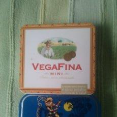 Cajas y cajitas metálicas: CAJITAS METALICAS VEGAFINA Y AMARELLI. Lote 180880488