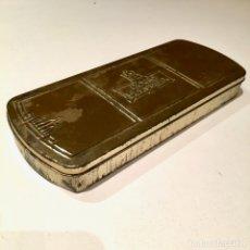 Cajas y cajitas metálicas: CAJA METALICA DE CHAPA, LATA, VACIA HORNO DE AGUILAR . Lote 181150863