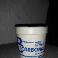 Cajas y cajitas metálicas: BOTE BICARBONATO SODICO BICARBONAT VALENCIA NUEVO A ESTRENAR. Lote 181191423