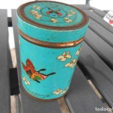 Cajas y cajitas metálicas: BOTE METÁLICO LITOGRAFIADO -TE DE CHINA-. Lote 181319262