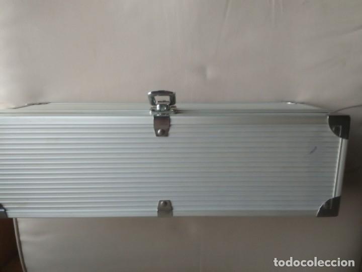 Cajas y cajitas metálicas: Caja metálica tipo cofre. 35 x 10 x 12,5 centimetros. - Foto 2 - 181498777