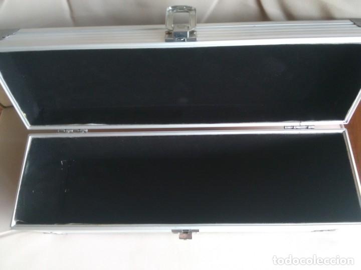 Cajas y cajitas metálicas: Caja metálica tipo cofre. 35 x 10 x 12,5 centimetros. - Foto 4 - 181498777