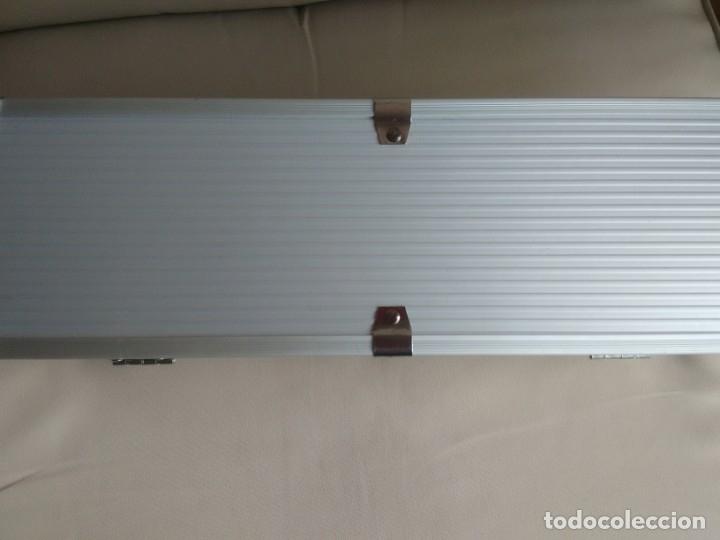 Cajas y cajitas metálicas: Caja metálica tipo cofre. 35 x 10 x 12,5 centimetros. - Foto 5 - 181498777
