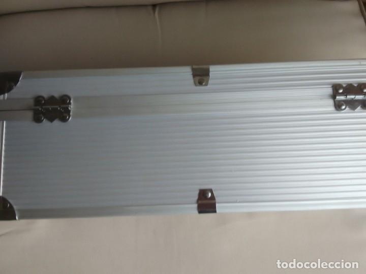 Cajas y cajitas metálicas: Caja metálica tipo cofre. 35 x 10 x 12,5 centimetros. - Foto 7 - 181498777
