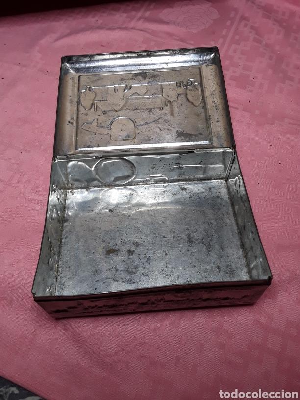 Cajas y cajitas metálicas: Caja de chapa con relieves - Foto 7 - 181504232