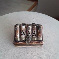 Cajas y cajitas metálicas: CAJA DE HUESO. Lote 181759002