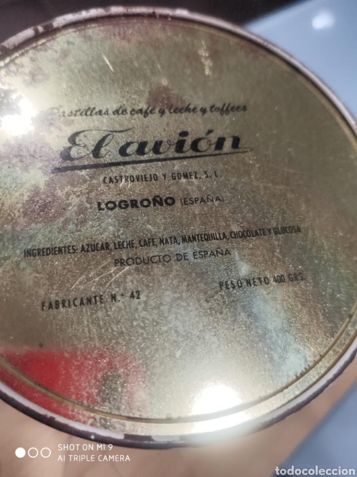 Cajas y cajitas metálicas: Caja lata El avión - Foto 2 - 182213256