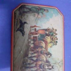 Cajas y cajitas metálicas: CAJA ANTIGUA CARAMELOS INGLESES. Lote 182369657