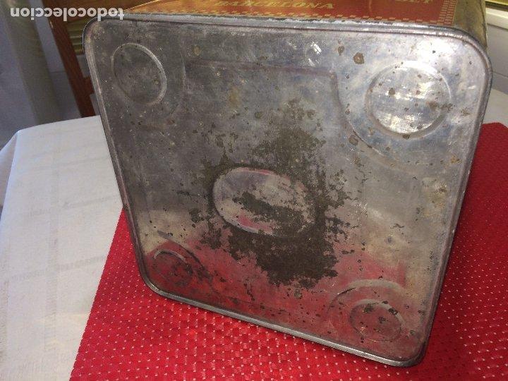 Cajas y cajitas metálicas: INSECTICIDA DINAMITA - LATA DE 10 LITROS VENTA A GRANEL - AÑOS 30 - ANTONIO CAUBET - Barcelona - Foto 9 - 182688948