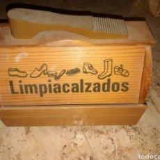 Cajas y cajitas metálicas: CAJA LIMPIACALZADOS. Lote 182749615