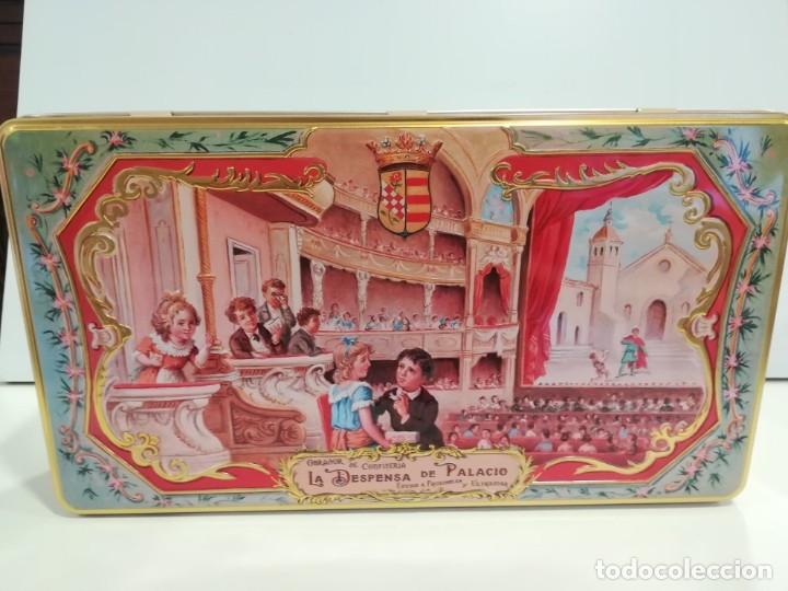 Lata De La Despensa De Palacio Estepa Comprar Cajas Antiguas Y Cajitas Metálicas En Todocoleccion 182948002