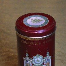 Cajas y cajitas metálicas: CAJA METÁLICA DE GALLETAS DE LOS ALMACENES FORTNUM & MASON.. Lote 182993108