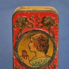 Cajas y cajitas metálicas: CAJA MODERNISTA 1909. Lote 183205691
