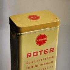 Cajas y cajitas metálicas: CAJA FARMACIA ROTER. Lote 183207581