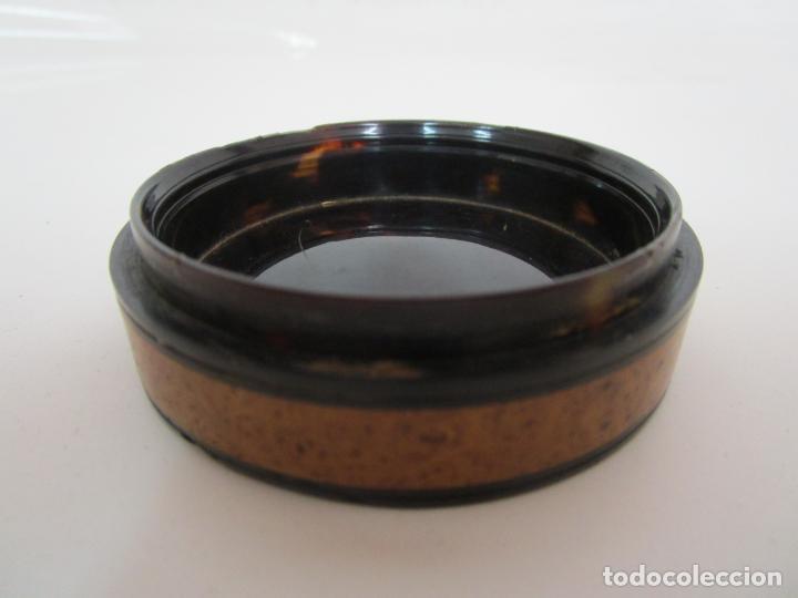 Cajas y cajitas metálicas: Preciosa Cajita de Rapé - Snuff Box - Dama - Raíz de Madera, Ébano - Interior Carey - S. XVII-XVIII - Foto 10 - 183662701