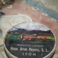 Cajas y cajitas metálicas: PRODUCTOS LÁCTEOS.. Lote 183826112