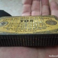 Cajas y cajitas metálicas: PASTA PECTORAL.. Lote 183827357
