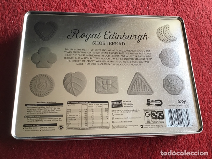 Cajas y cajitas metálicas: Caja Metálica Royal Edinburgh. - Foto 3 - 183881683