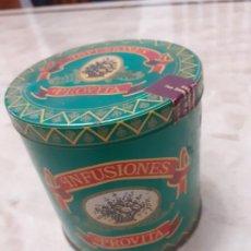 Cajas y cajitas metálicas: ANTIGUA LATA DE INFUSIONES PROVITA. Lote 184608296