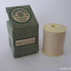 Cajas y cajitas metálicas: CAJA FARMACIA ESPARADRAPO SPARAPLAST LABORATORIOS MABURU S.L. SAN SEBASTIÁN SIN USO . Lote 184718666