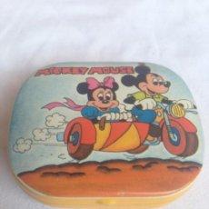 Cajas y cajitas metálicas: CAJA METALICA MICKEY MOUSE. Lote 186089136