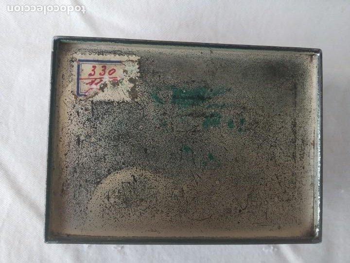 Cajas y cajitas metálicas: CAJA CHAPA - HOJALATA EN RELIEVE - REPUJADA - AÑOS 20/30 - Foto 10 - 187094033