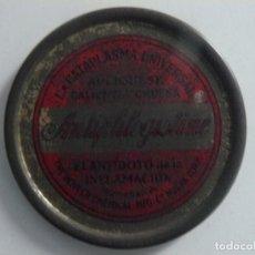 Cajas y cajitas metálicas: CAJA METALICA DE CATAPLASMA UNIVERSAL- ANLIPHLOGISTINE- HIJOS DR. ANDRE AÑOS 20-30. Lote 187329476