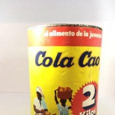 Cajas y cajitas metálicas: BOTE ANTIGUO DE COLA CAO 2 KILOS. Lote 187500908